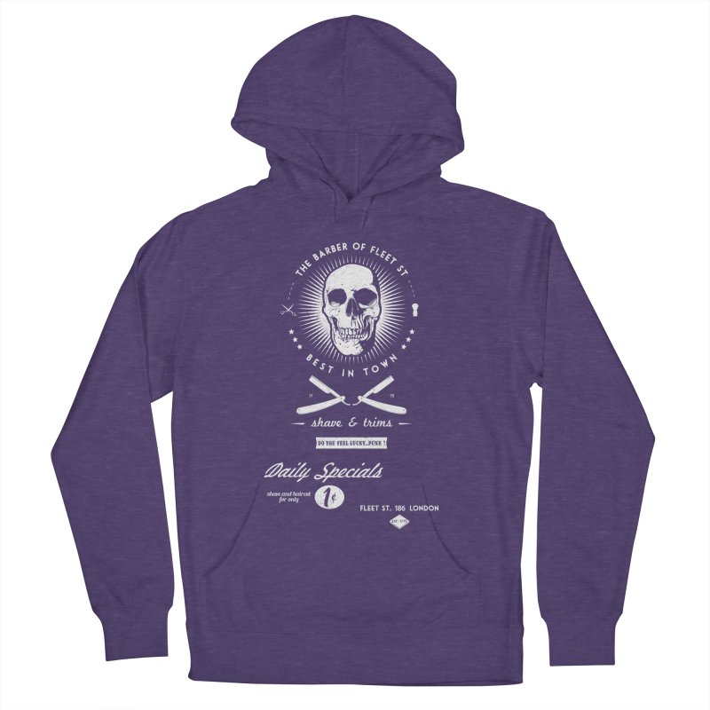 The Barber of Fleet St Women's Pullover Hoody by nickmanofredda's Artist Shop