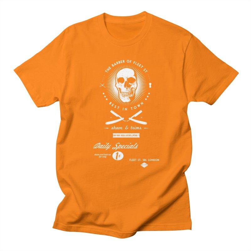 The Barber of Fleet St Men's T-shirt by nickmanofredda's Artist Shop