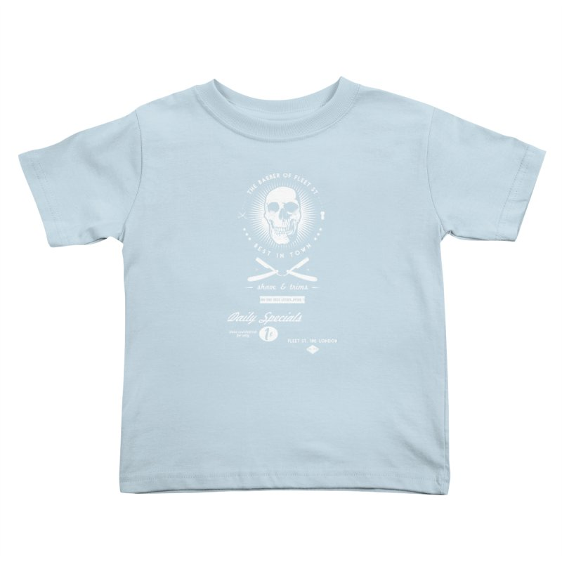 The Barber of Fleet St Kids Toddler T-Shirt by nickmanofredda's Artist Shop