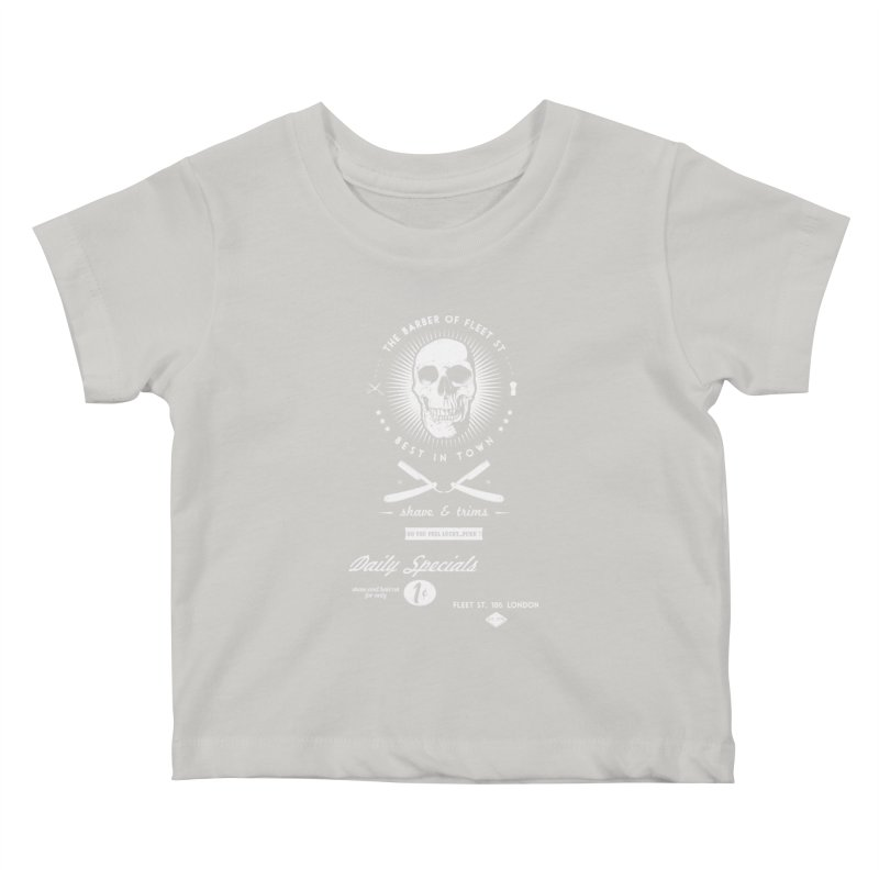 The Barber of Fleet St Kids Baby T-Shirt by nickmanofredda's Artist Shop