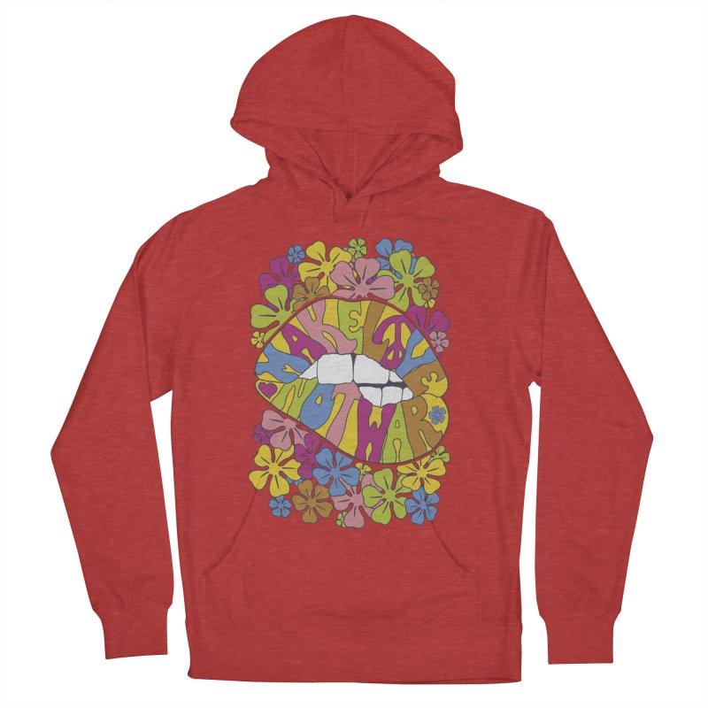 make love not war_2 Men's Pullover Hoody by nickmanofredda's Artist Shop