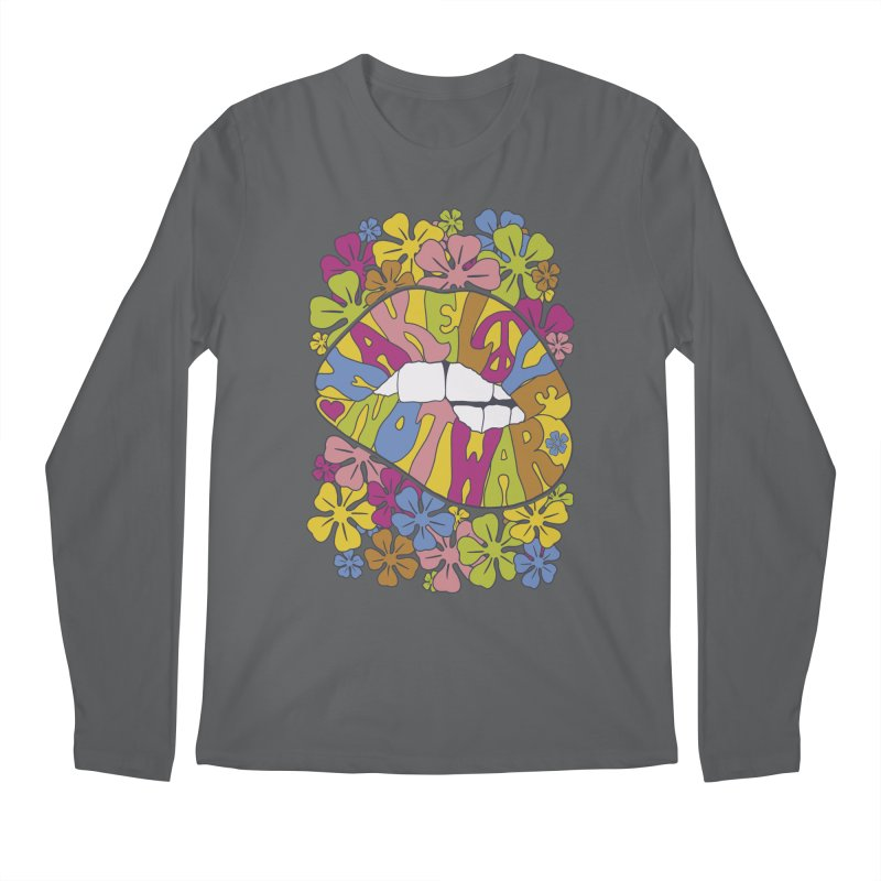 make love not war_2 Men's Regular Longsleeve T-Shirt by nickmanofredda's Artist Shop