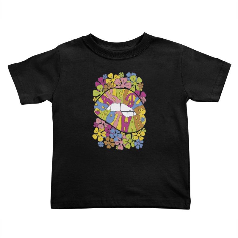 make love not war_2 Kids Toddler T-Shirt by nickmanofredda's Artist Shop