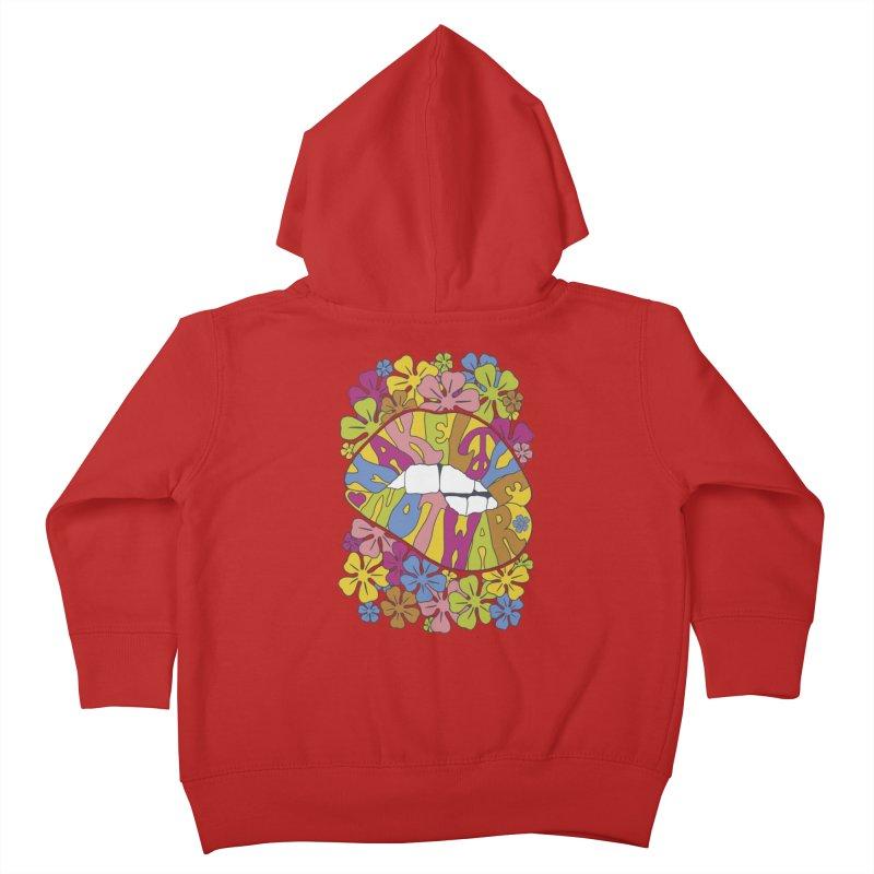 make love not war_2 Kids Toddler Zip-Up Hoody by nickmanofredda's Artist Shop