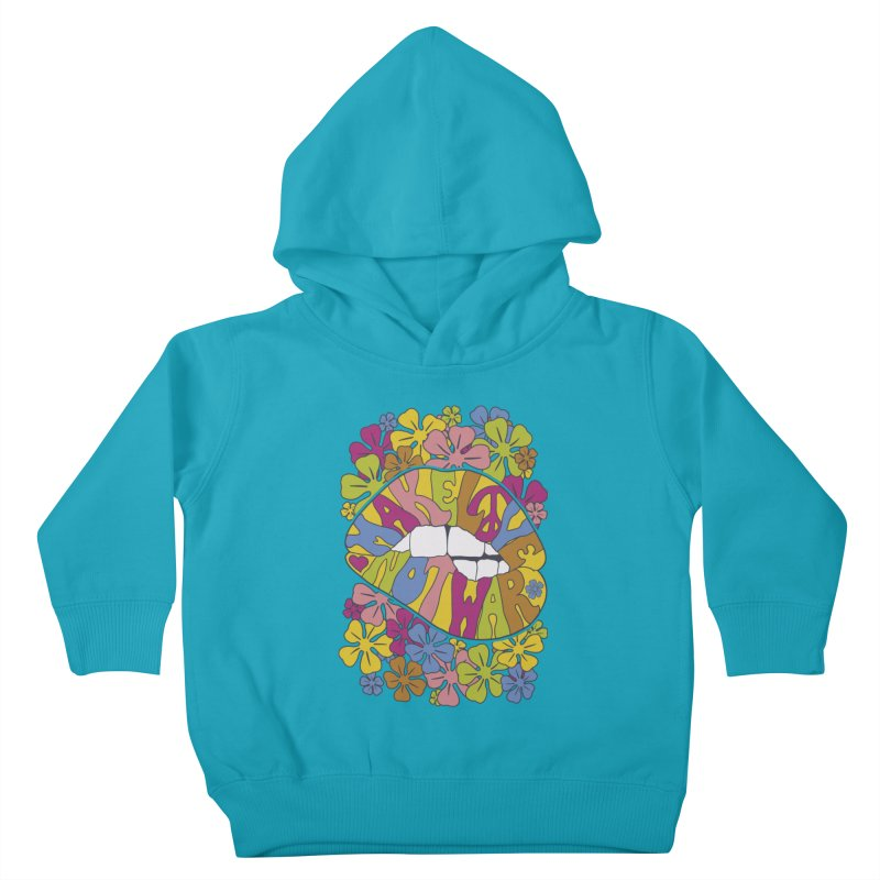 make love not war_2 Kids Toddler Pullover Hoody by nickmanofredda's Artist Shop