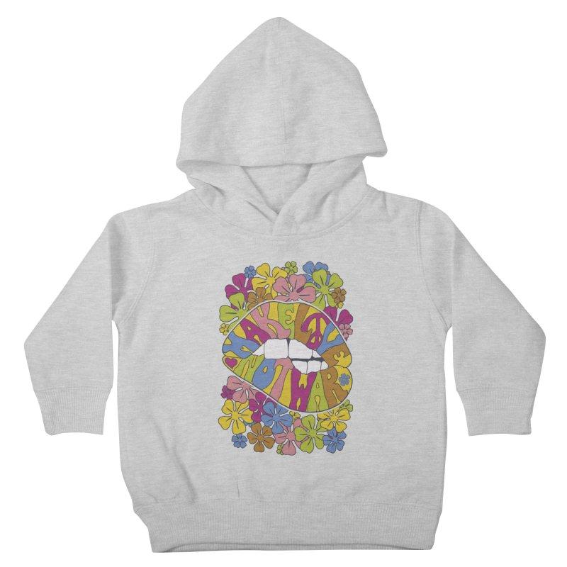make love not war_2 Kids Toddler Pullover Hoody by nickmanofredda's Artist Shop