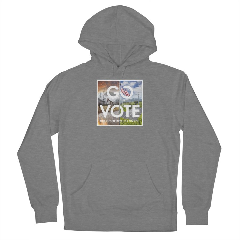 Go Vote Women's Pullover Hoody by Nick Pedersen - Artist Shop
