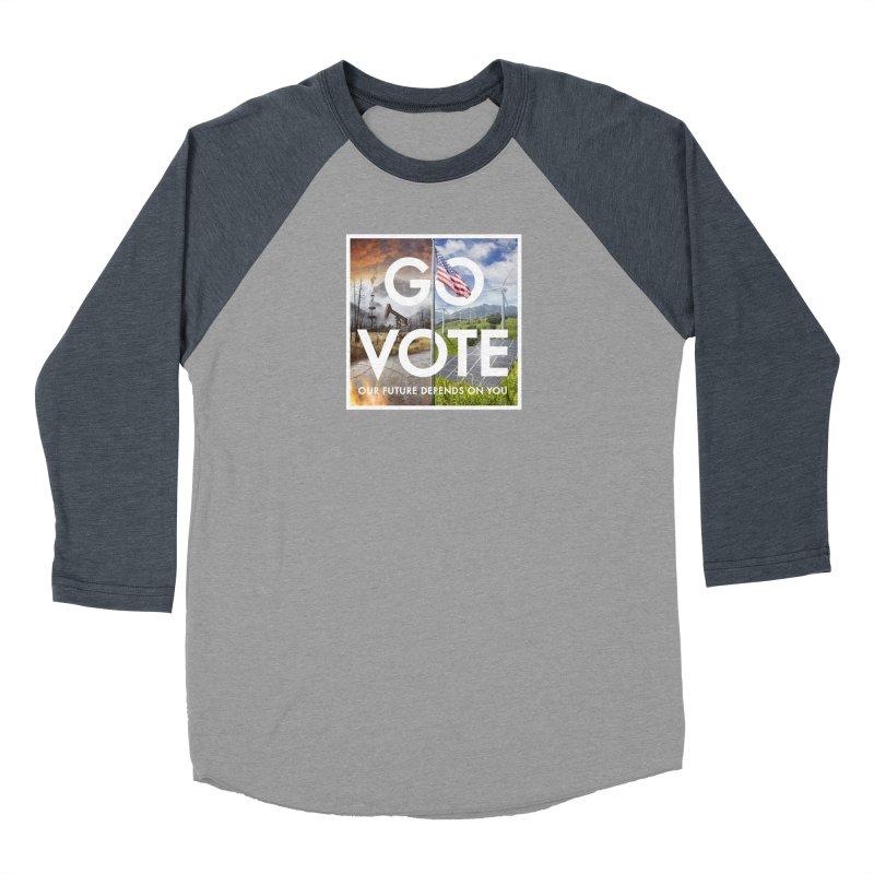 Go Vote Women's Longsleeve T-Shirt by Nick Pedersen - Artist Shop