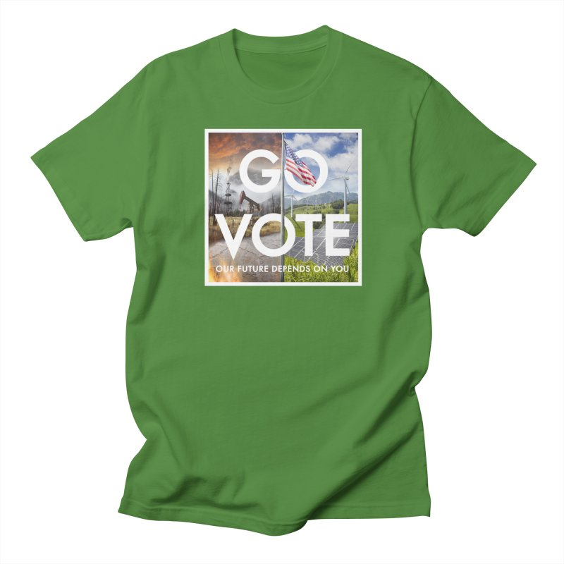 Go Vote Men's T-Shirt by Nick Pedersen - Artist Shop