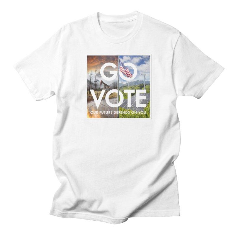 Go Vote Men's T-Shirt by Nick Pedersen - Artist Shop