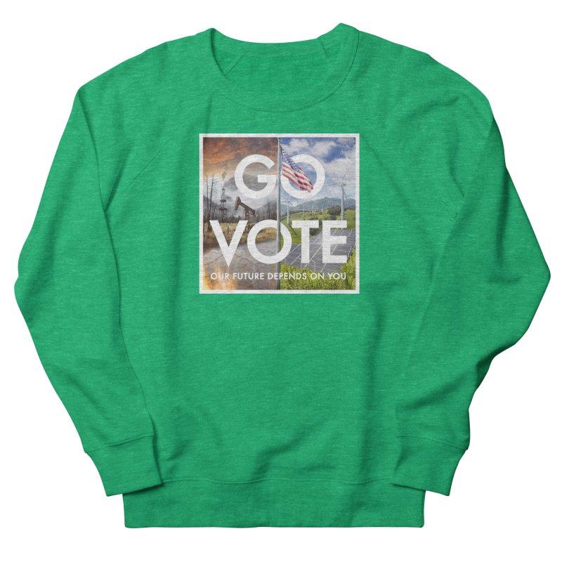 Go Vote Women's Sweatshirt by Nick Pedersen - Artist Shop