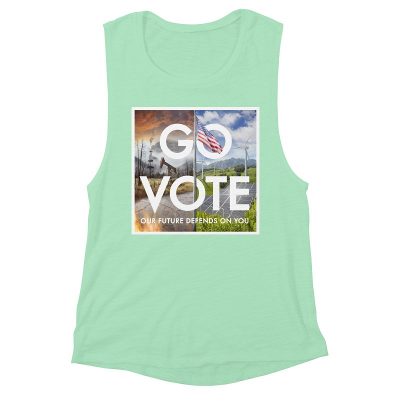 Go Vote Women's Tank by Nick Pedersen - Artist Shop