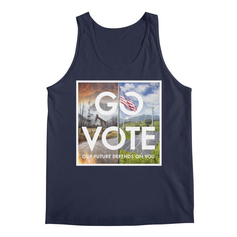 Go Vote Men's Tank by Nick Pedersen - Artist Shop