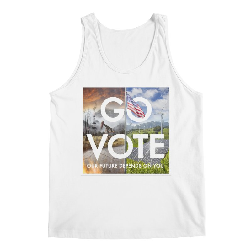 Go Vote Men's Tank by Nick Pedersen - Artist Shop