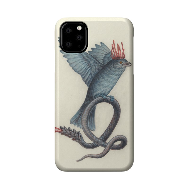 Bird Snake Accessories Phone Case by Nick Sheehy's Artist Shop