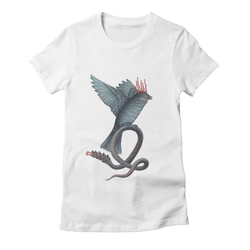 Bird Snake Women's T-Shirt by Nick Sheehy's Artist Shop