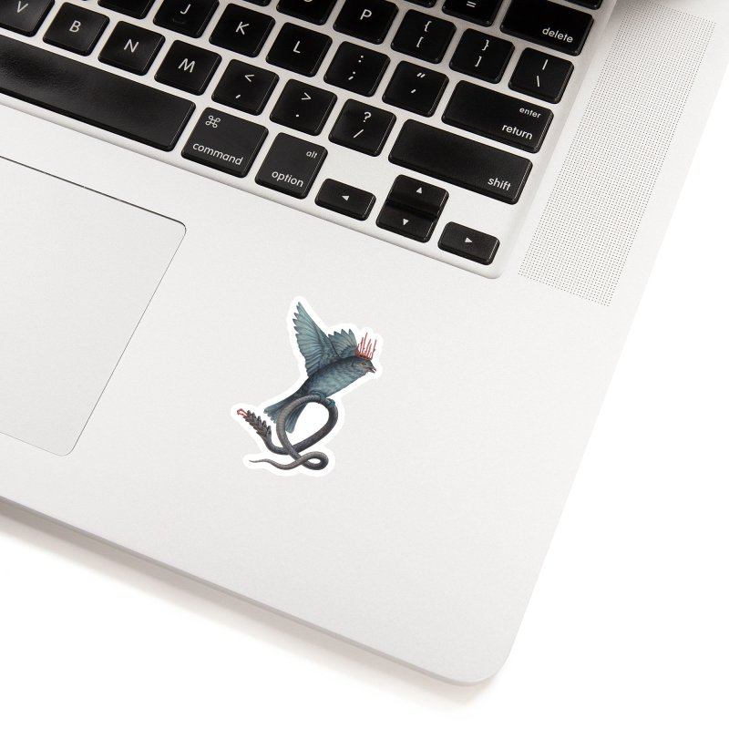 Bird Snake Accessories Sticker by Nick Sheehy's Artist Shop