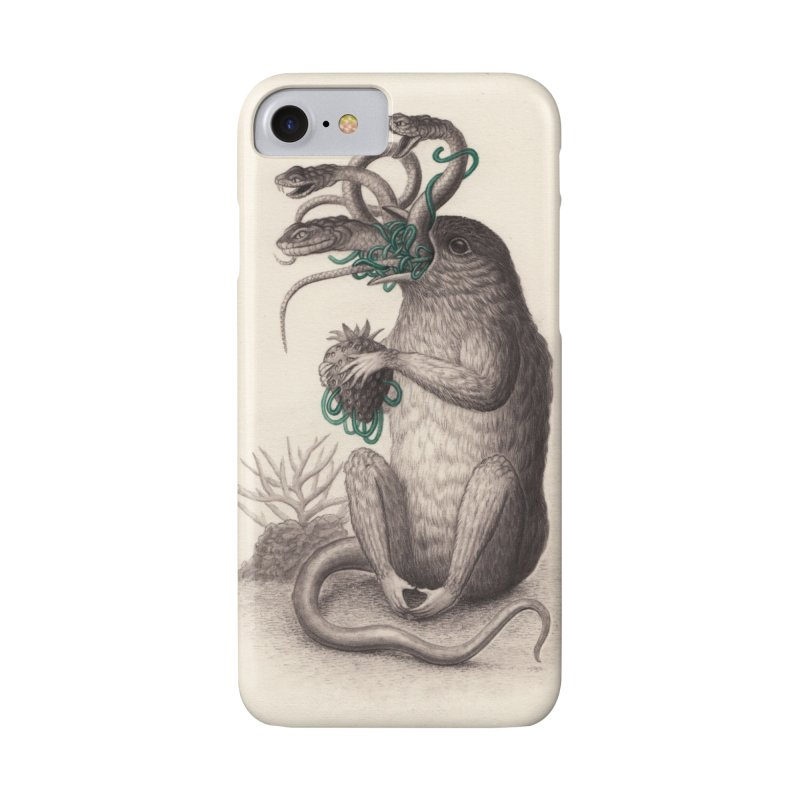 The Feeding in iPhone 7 Phone Case Slim by Nick Sheehy's Artist Shop
