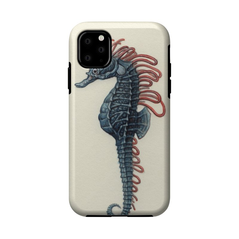 Seahorse Accessories Phone Case by Nick Sheehy's Artist Shop