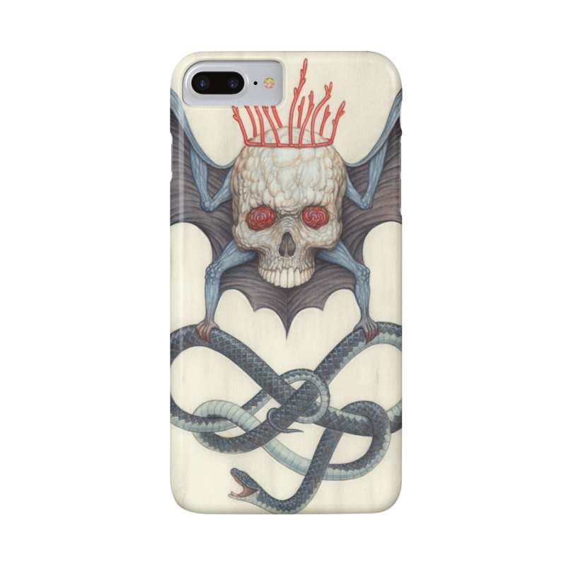 Muscle Bat in iPhone 7 Plus Phone Case Slim by Nick Sheehy's Artist Shop