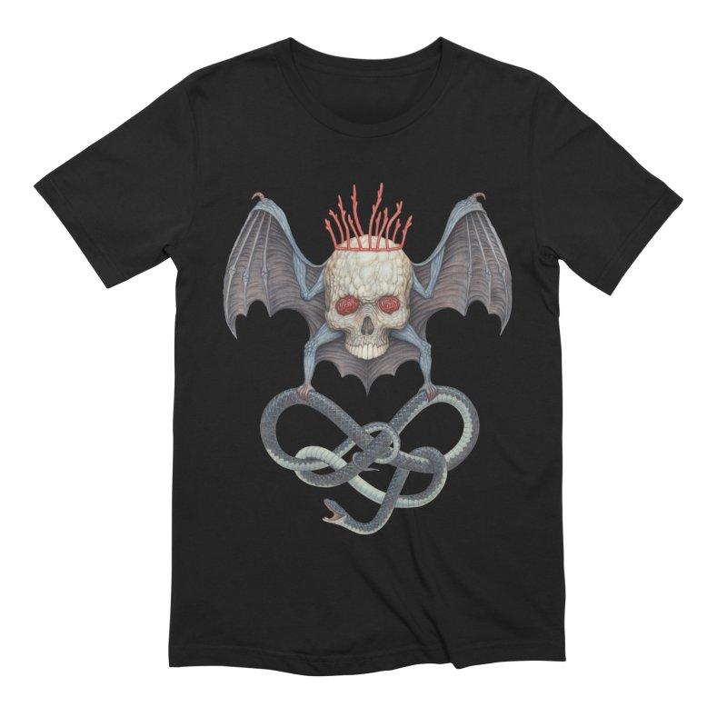 Muscle Bat Men's T-Shirt by Nick Sheehy's Artist Shop