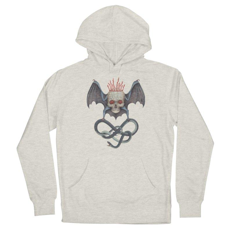 Muscle Bat Men's Pullover Hoody by Nick Sheehy's Artist Shop