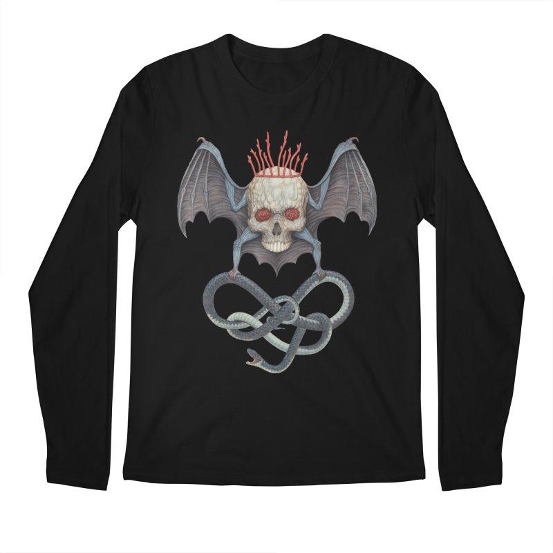 Muscle Bat Men's Longsleeve T-Shirt by Nick Sheehy's Artist Shop