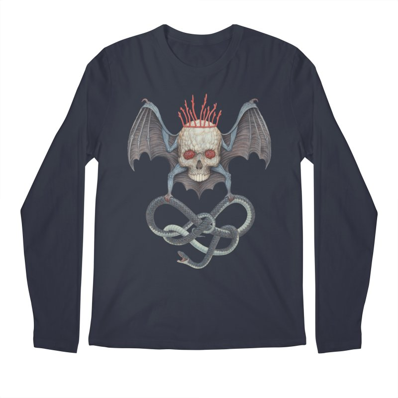 Muscle Bat Men's Longsleeve T-Shirt by Nick Sheehy's Artist Shop