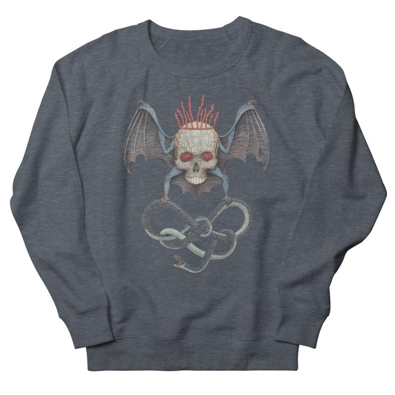 Muscle Bat Women's Sweatshirt by Nick Sheehy's Artist Shop