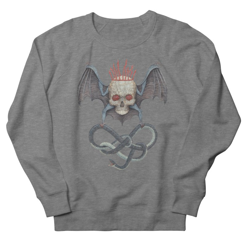 Muscle Bat Women's Sweatshirt by Nick Sheehy's Artist Shop