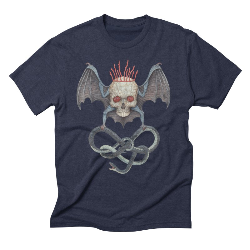 Muscle Bat Men's T-Shirt by Nick Sheehy's Artist Shop