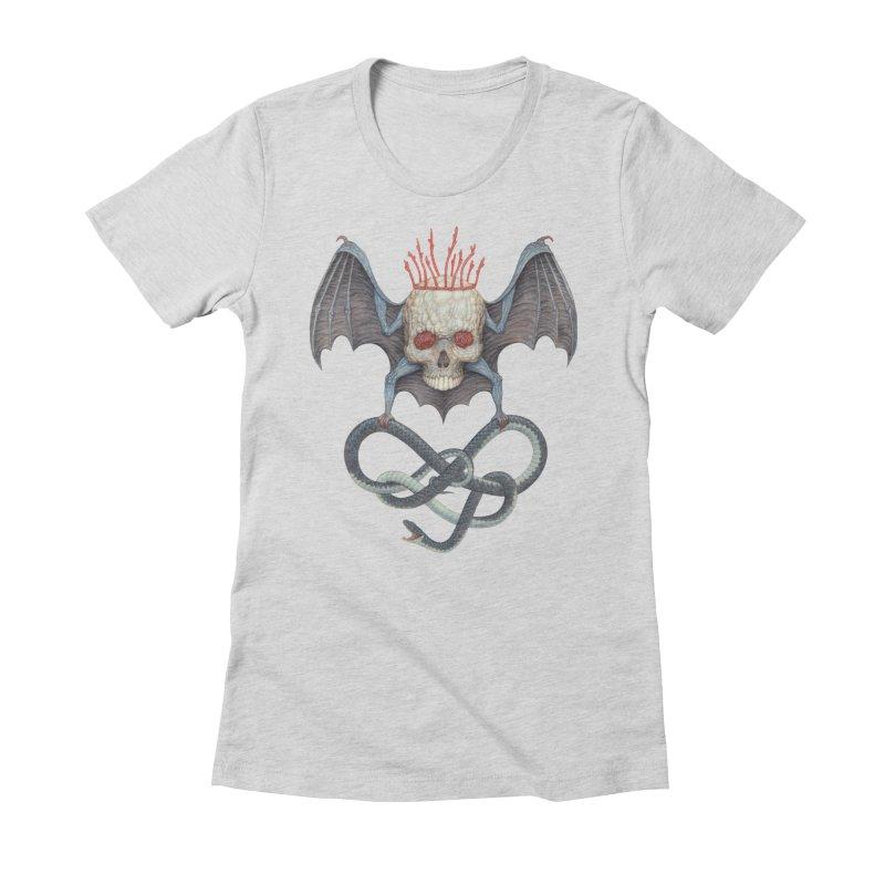Muscle Bat Women's T-Shirt by Nick Sheehy's Artist Shop