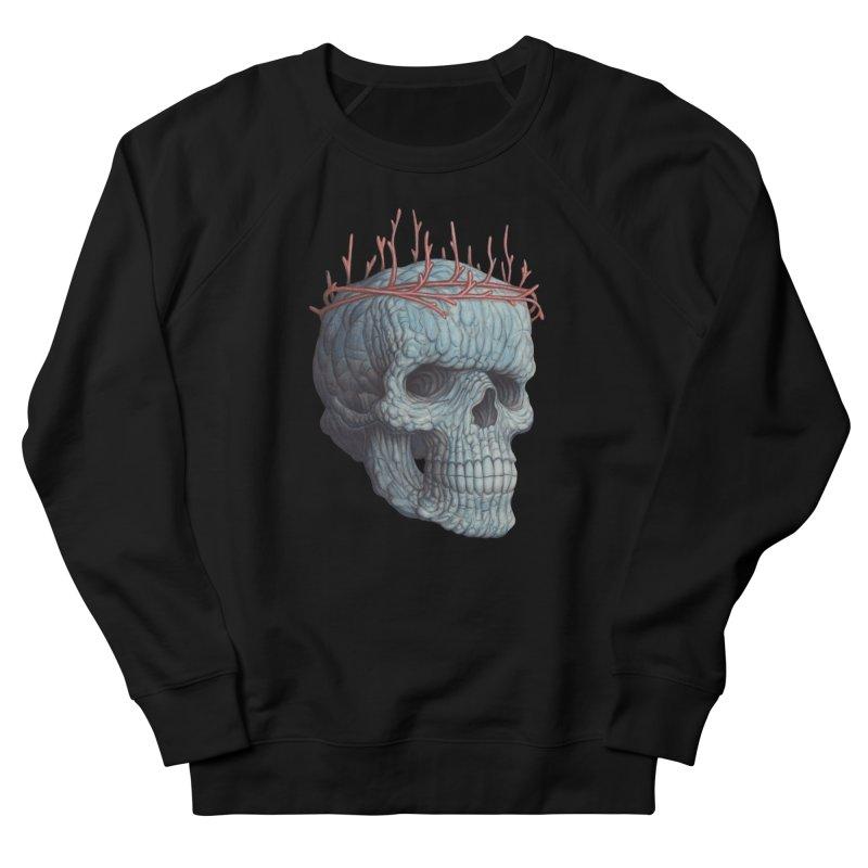 Blue Skull Women's Sweatshirt by Nick Sheehy's Artist Shop