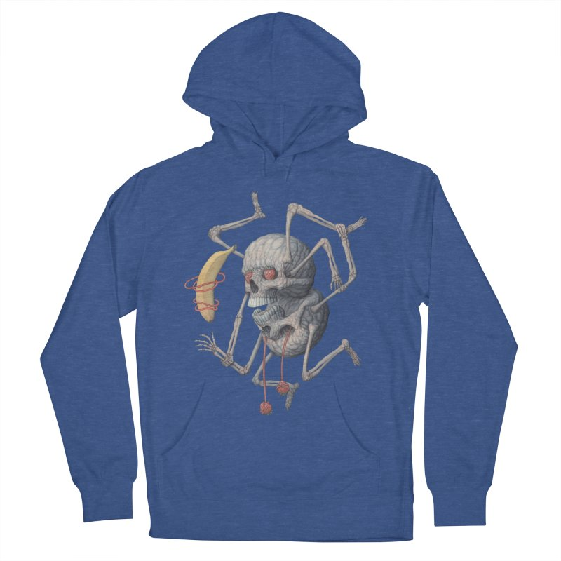 As Above, So Below Men's French Terry Pullover Hoody by Nick Sheehy's Artist Shop