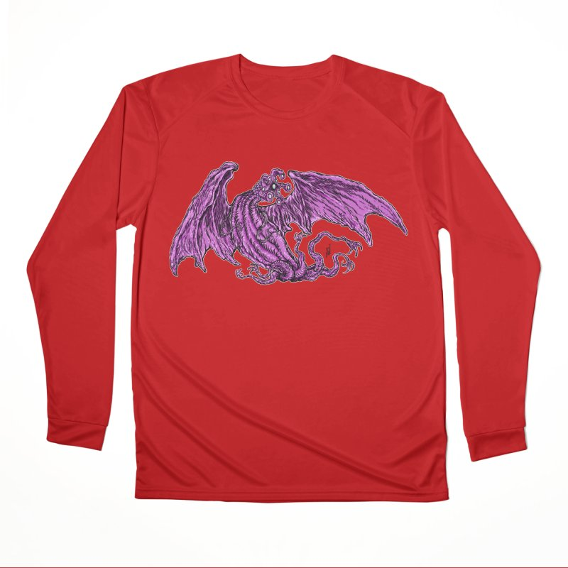 Elder Thing Men's Performance Longsleeve T-Shirt by Nick the Hat