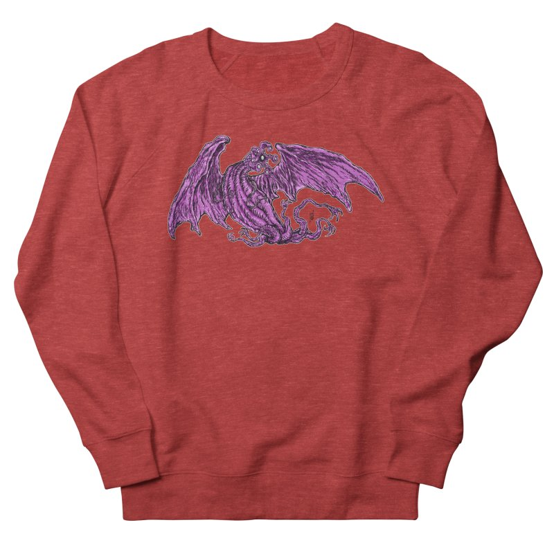 Elder Thing Men's French Terry Sweatshirt by Nick the Hat