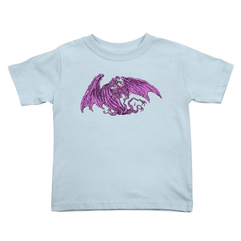 Elder Thing Kids Toddler T-Shirt by Nick the Hat