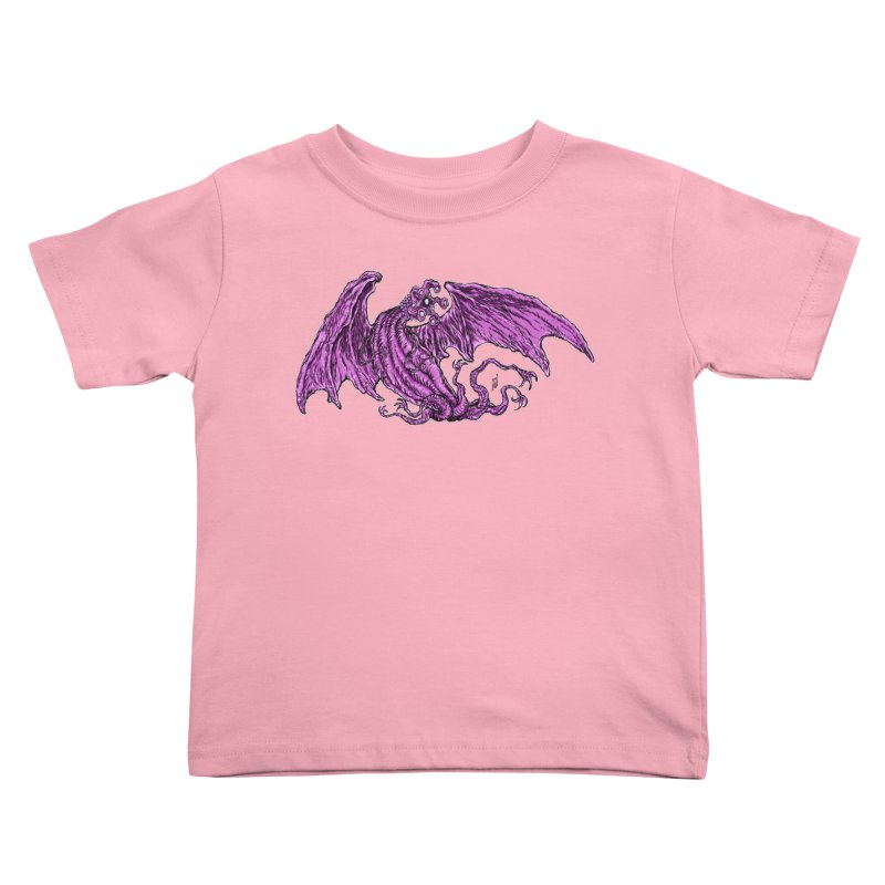 Elder Thing Kids Toddler T-Shirt by Nick the Hat