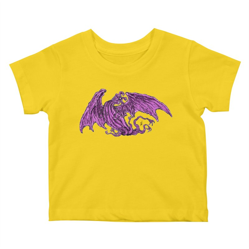Elder Thing Kids Baby T-Shirt by Nick the Hat