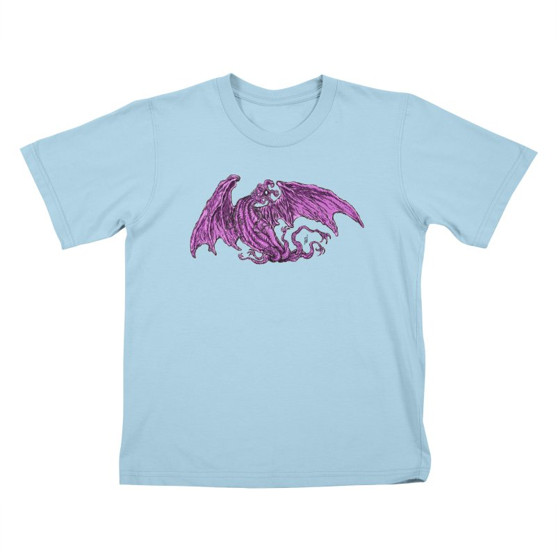 Elder Thing Kids T-Shirt by Nick the Hat