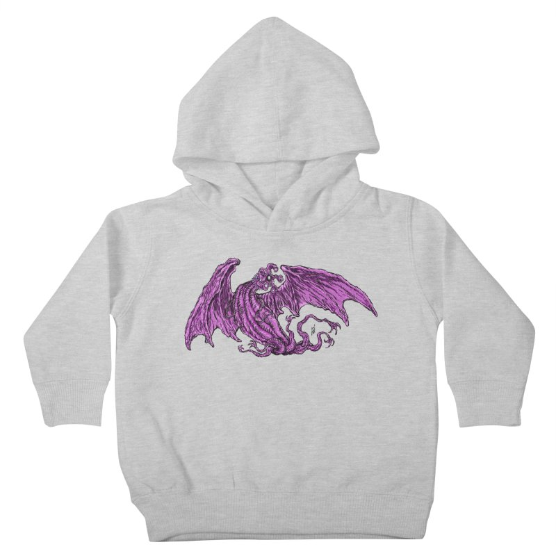 Elder Thing Kids Toddler Pullover Hoody by Nick the Hat