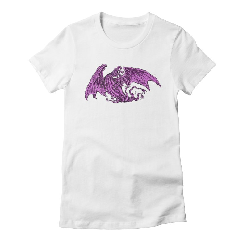 Elder Thing Women's Fitted T-Shirt by Nick the Hat