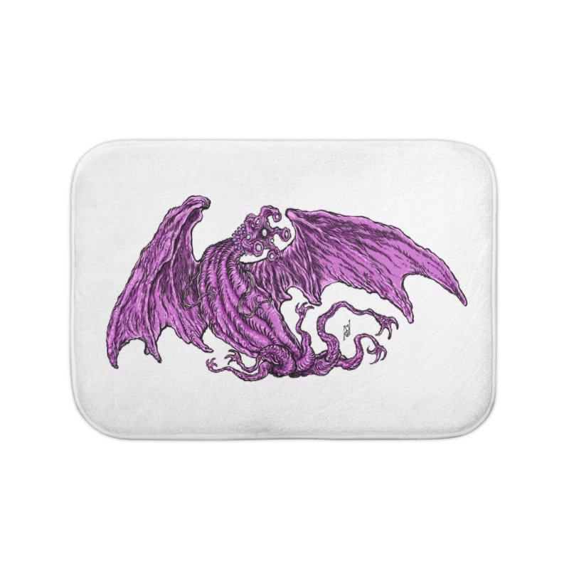 Elder Thing Home Bath Mat by Nick the Hat