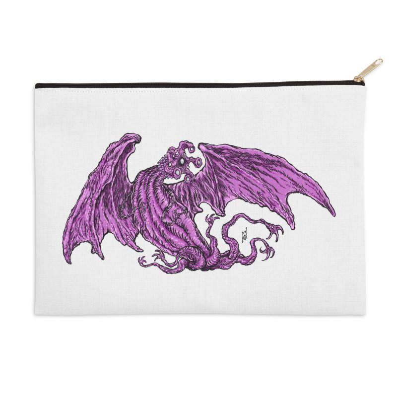 Elder Thing Accessories Zip Pouch by Nick the Hat