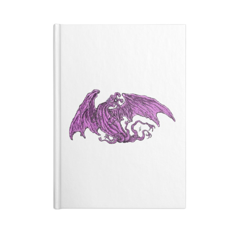 Elder Thing Accessories Lined Journal Notebook by Nick the Hat
