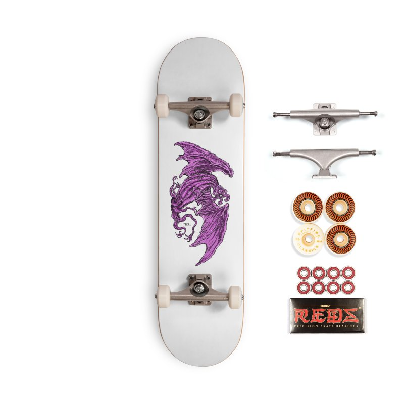 Elder Thing Accessories Skateboard by Nick the Hat