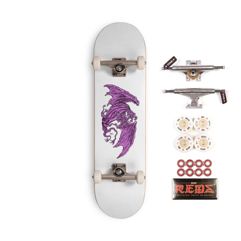 Elder Thing Accessories Complete - Pro Skateboard by Nick the Hat