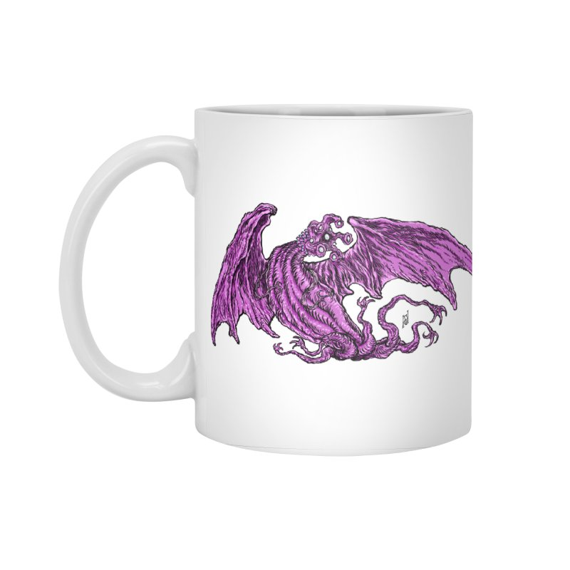 Elder Thing Accessories Standard Mug by Nick the Hat