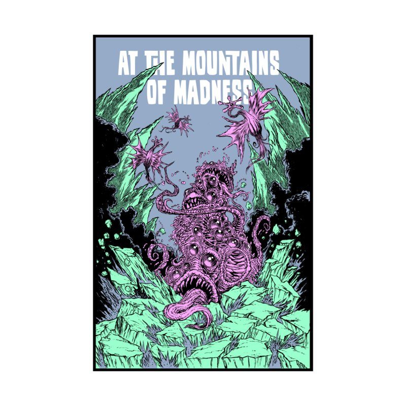 At The Mountains of Madness Home Duvet by Nick the Hat