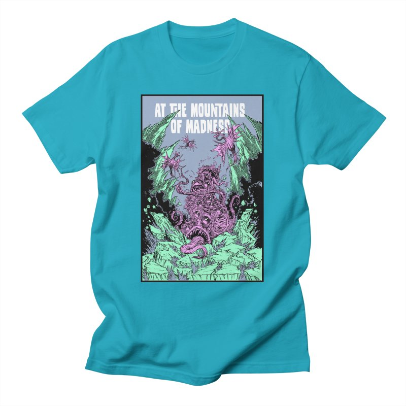 At The Mountains of Madness Men's T-Shirt by Nick the Hat